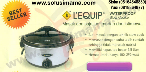 Lequip Waterproof Slow Cooker