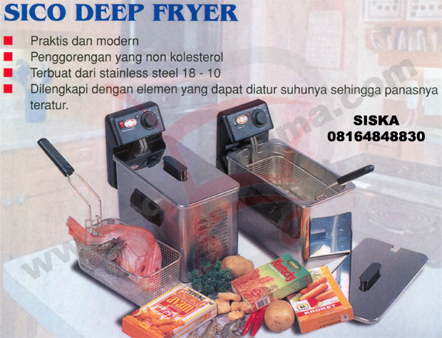 Deep Fryer Sico