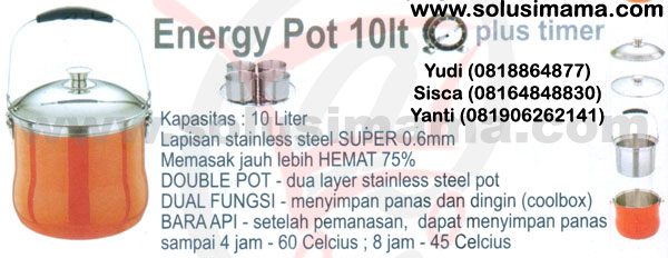 Energy Pot 10lt