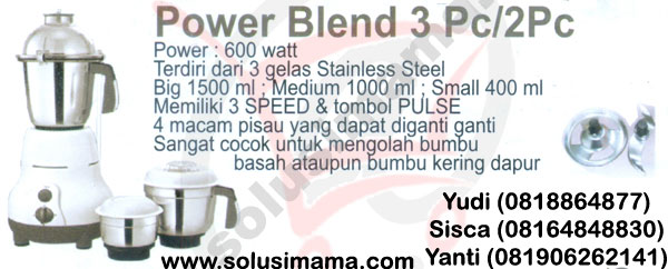 Power Blend 2pc