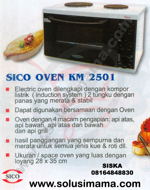 Oven Kitchen Master 2501 Sico