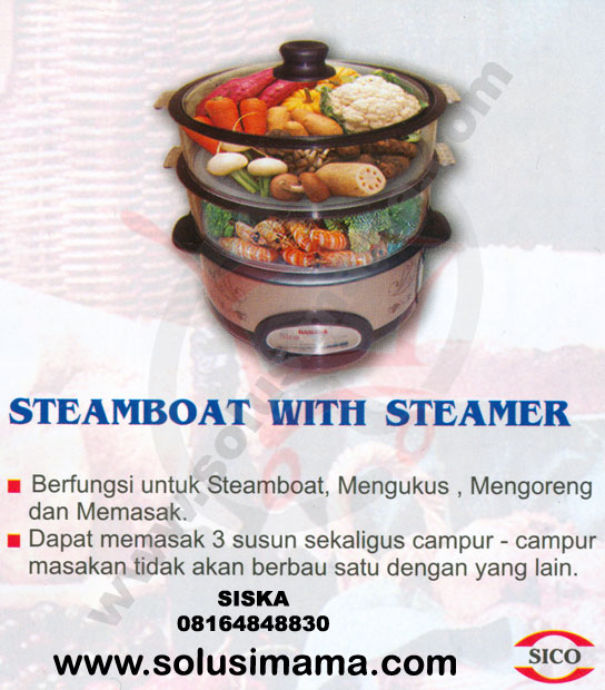 Steamboat with Steamer
